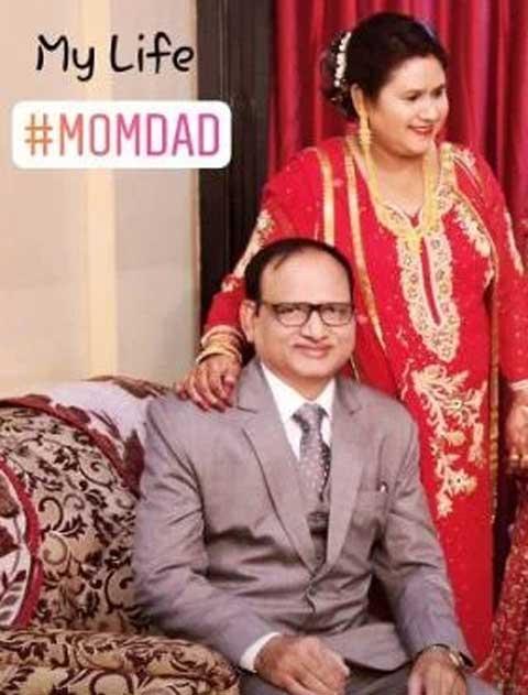 Aamir Siddiqui family