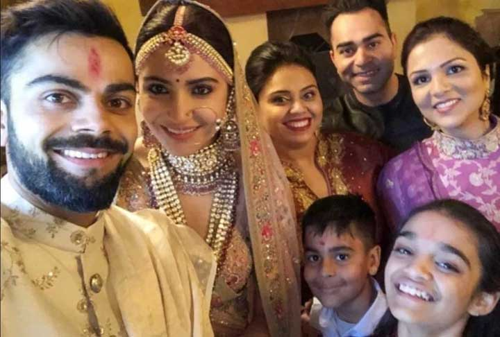 Virat Kohli family