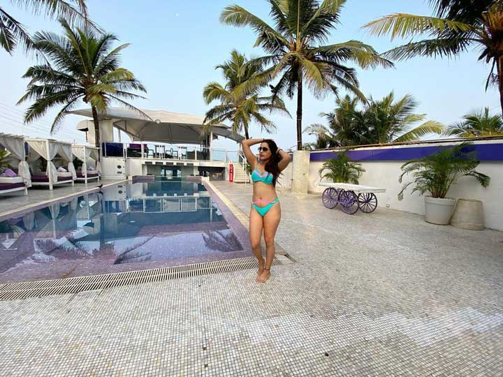 Shiny Dixit bikini photos
