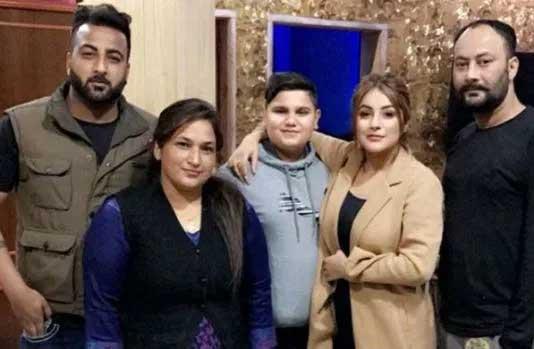 Shehnaaz Gill family