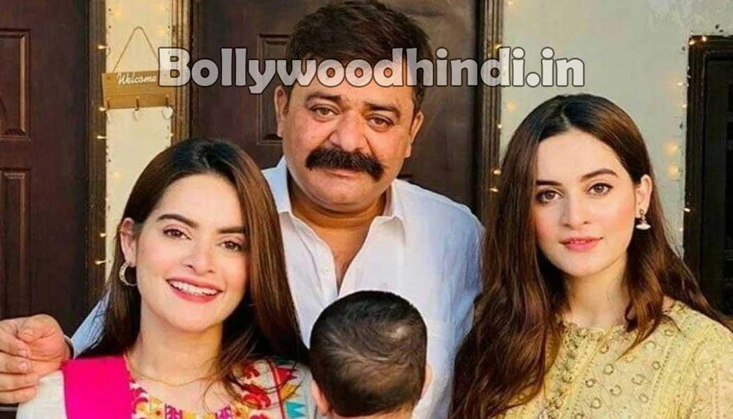 aiman khan Minal khan family