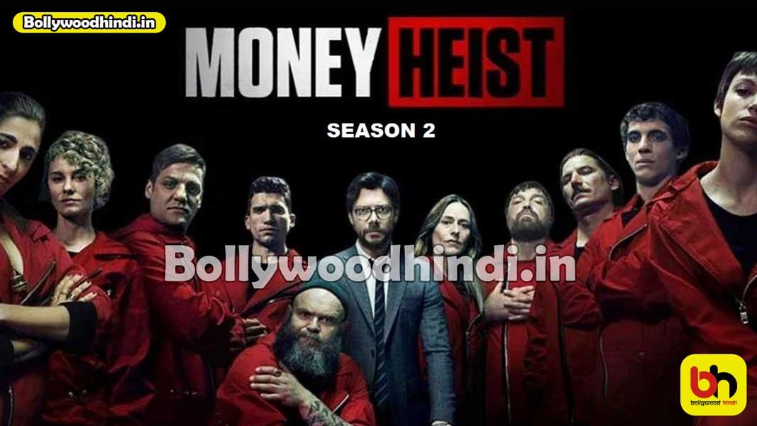 Money Heist Season 2 cast