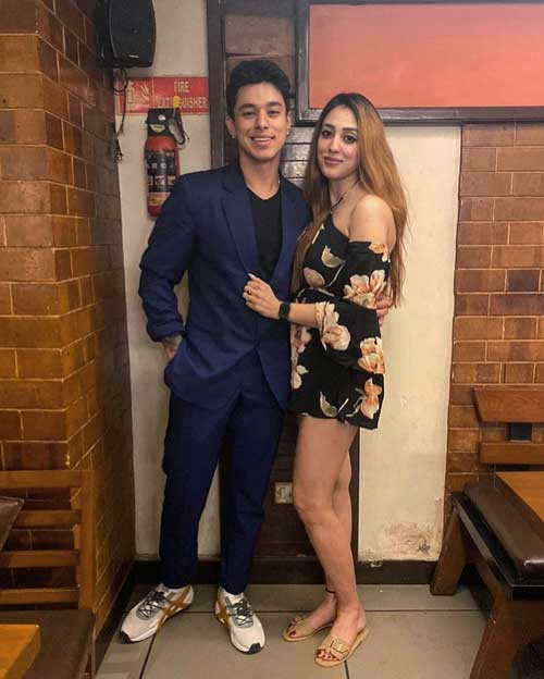 Pratik Sehajpal girlfriend