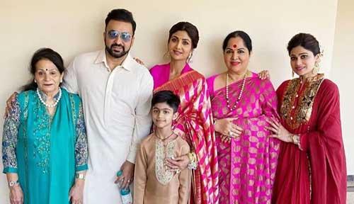 Shamita Shetty family