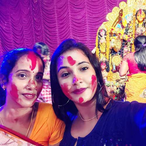 Trisha Kar Madhu family