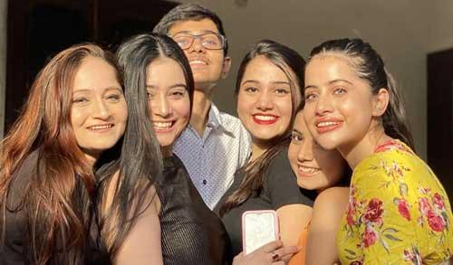 Urfi Javed family